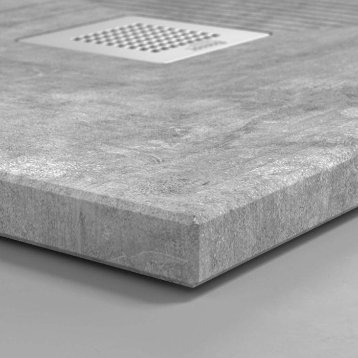 Cement, materiales humildes ennoblecen el baño, detalle